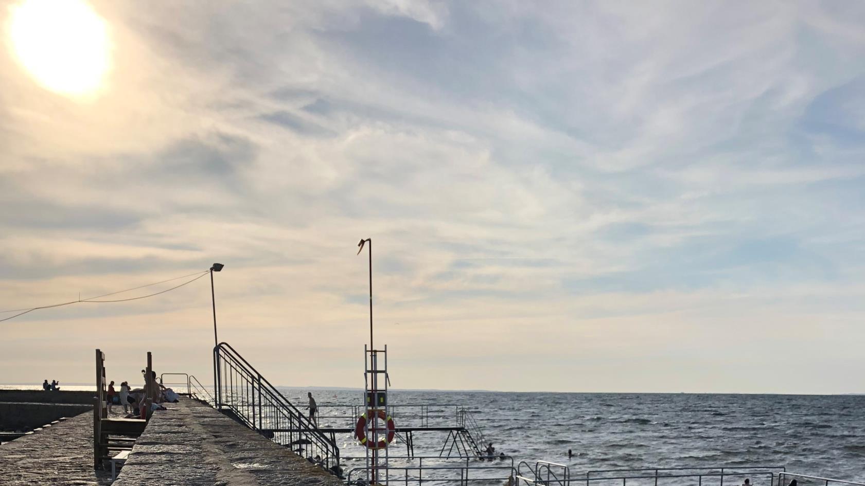 Piren i Barsebäcks hamn
