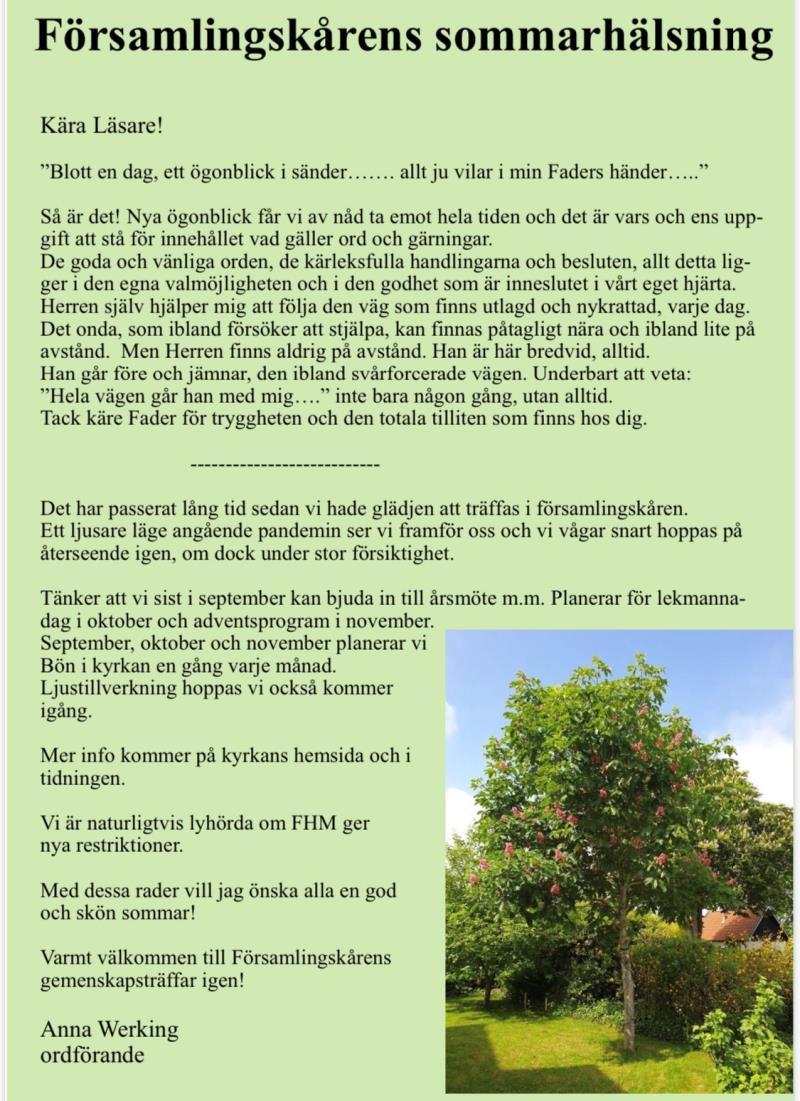 Kontakta oss - Björnekulla-Västra Broby församling