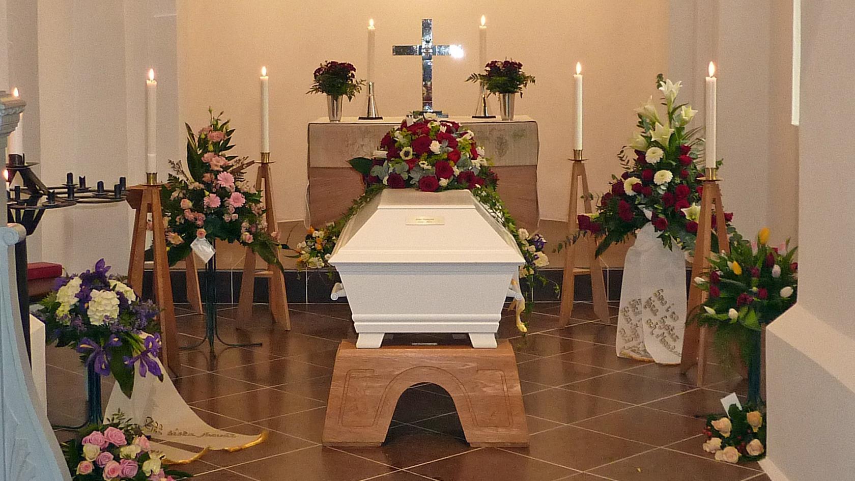 begravning efter dödsfall