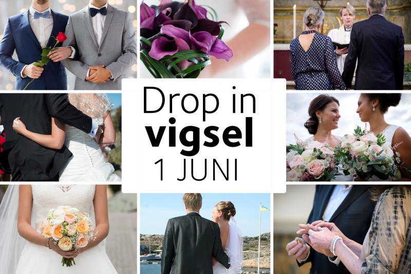 drop in bröllop