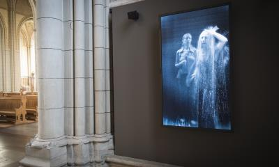 Saturday, October 27, 2018 at 13.1, the permanent installation of Bill Viola's video work Visitation will be inaugurated in Uppsala Cathedral.