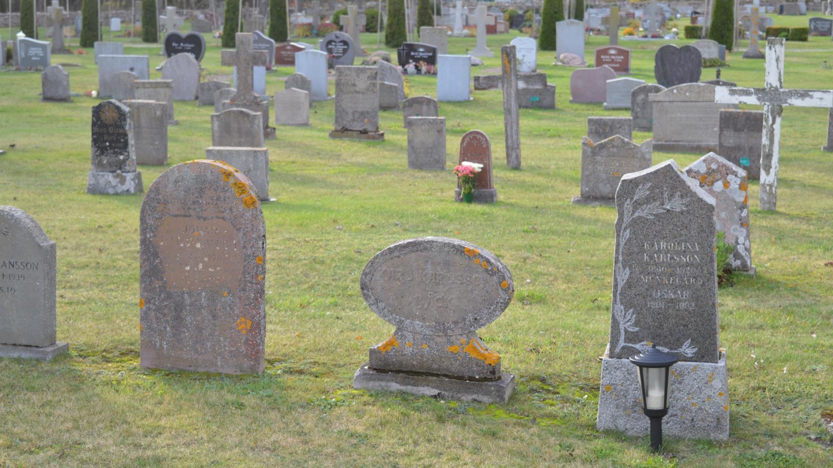 gravplatser i sverige