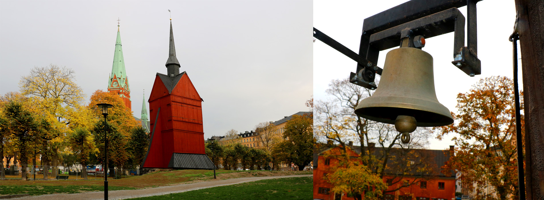 Tystnaden hedras i svenska kyrkor