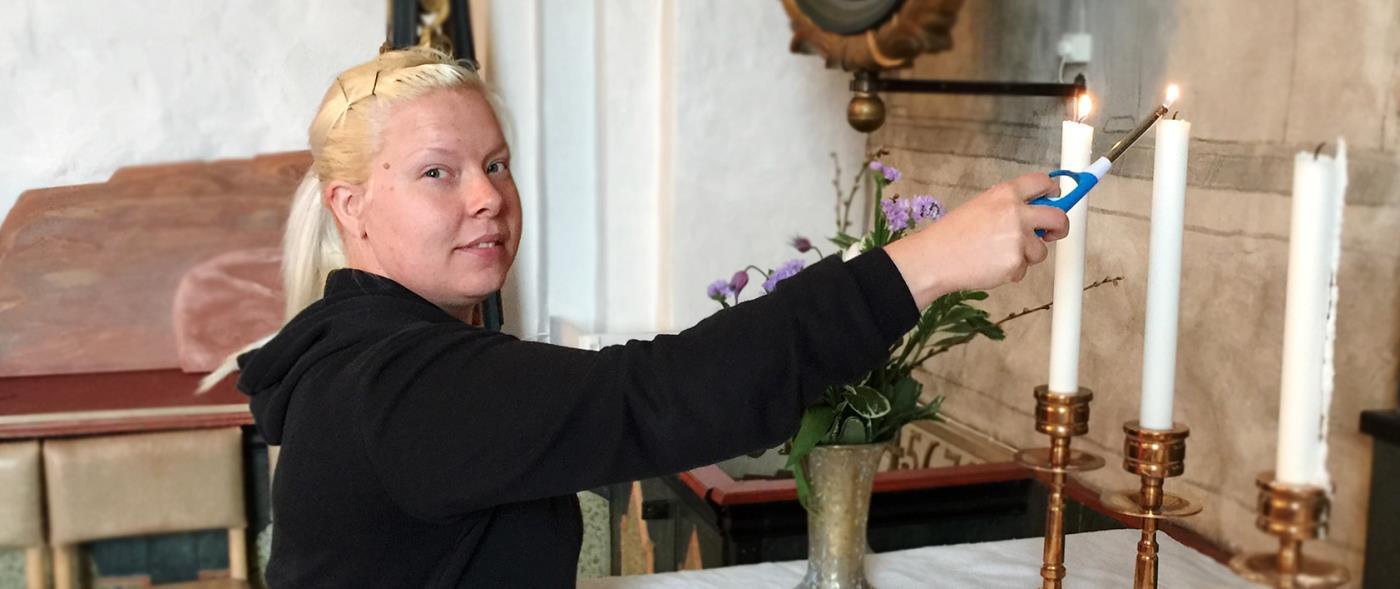 Kyrkskoj i Robertsfors - Bygde frsamling - Svenska kyrkan
