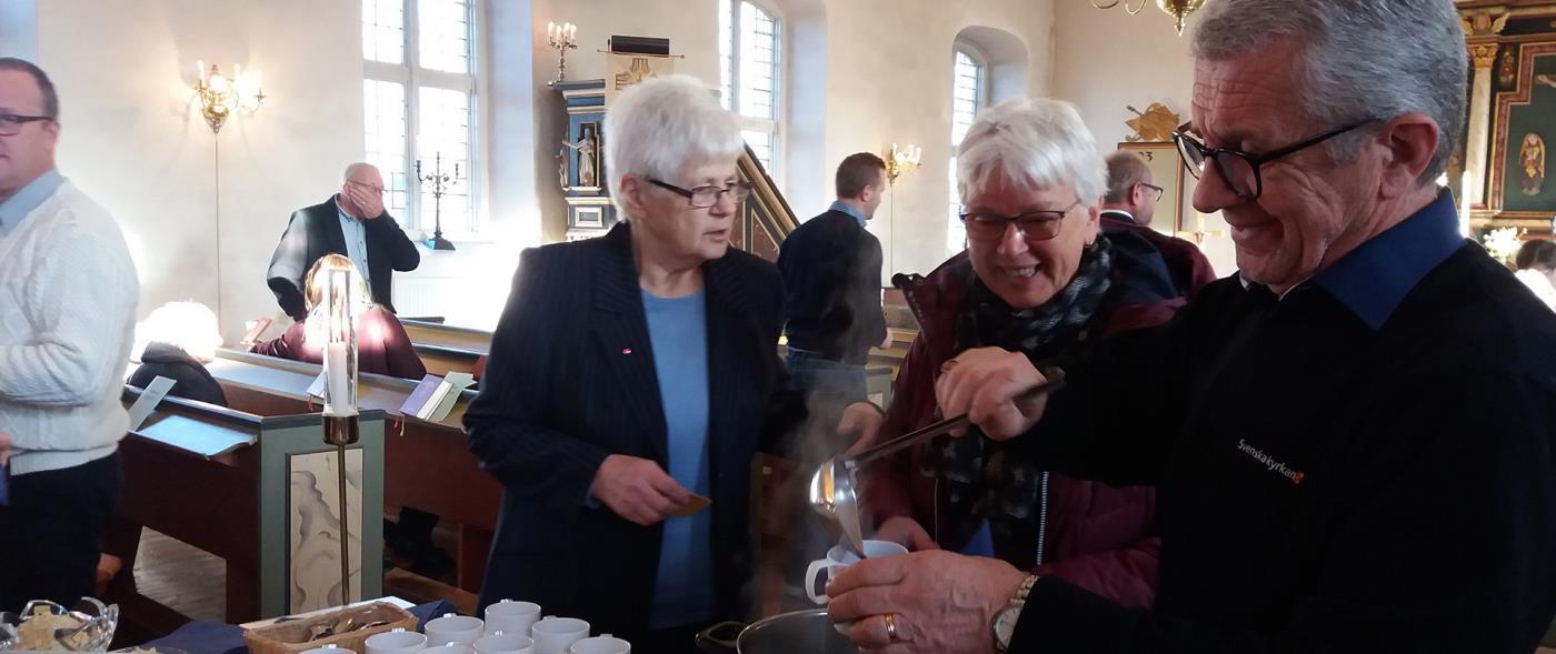 Mtesplatser i Mjbck-Holsljunga - Svenska kyrkan i Kind