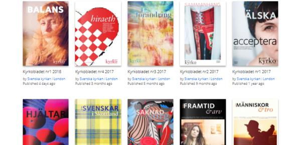 As an organisation or company you are most welcome to support us by advertising in our quarterly Church Magazine, reaching out to more than 25.000 swedes in the UK.