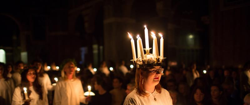 Purchase your tickets to Lucia in St Paul's Cathedral, Southwark Cathedral and Ulrika Eleonora Parish Church via link here