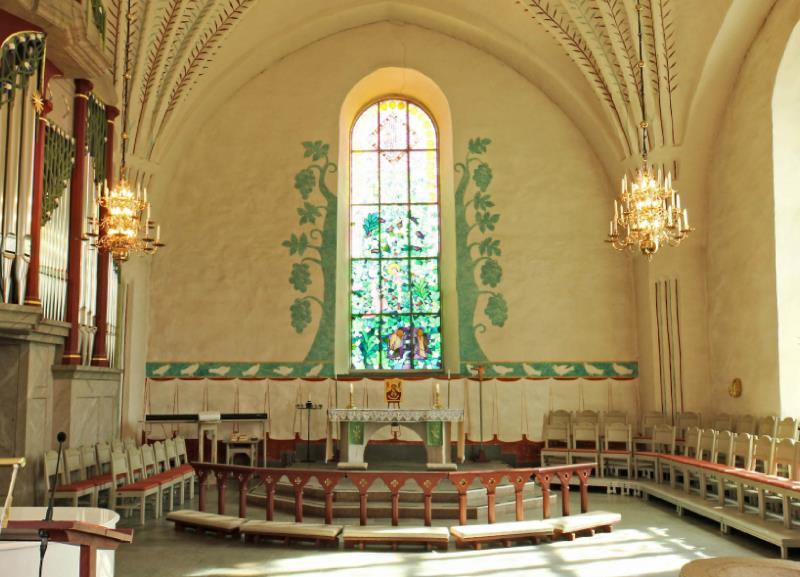 Turbulens i Frsamlingsgrden - Svenska kyrkan i Ume