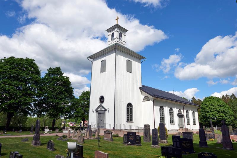 Svenljunga kapell - Svenska kyrkan i Kind