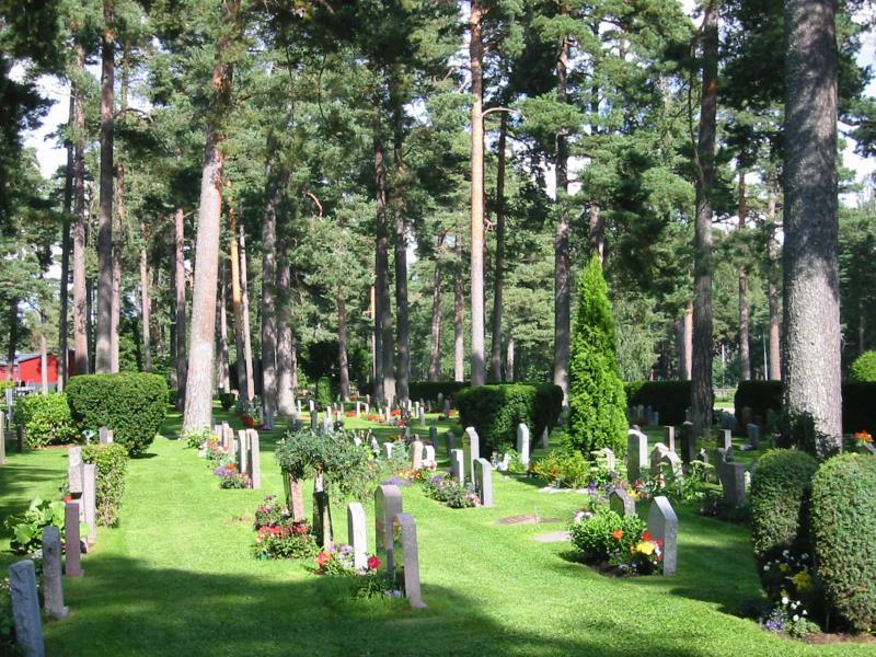 skogskyrkogården hitta grav